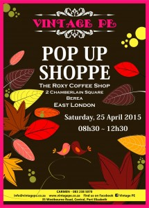 Vintage PE - Pop Up Shop - April 2015 (e-mail)