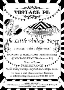 Vintage PE - Little Vintage Fayre Poster - 21 March 2016 (e-mail version)