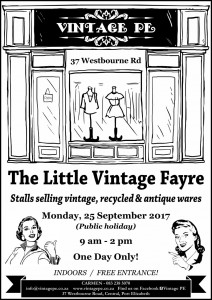 Vintage PE - Little Vintage Fayre Poster - September 2017 (e-mail)
