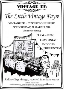 Vintage PE - Little Vintage Fayre Poster - March 2018 (e-mail version)