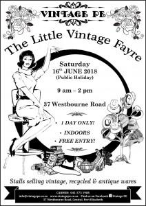 Vintage PE - Little Vintage Fayre Poster - June 2018 (e-mail)