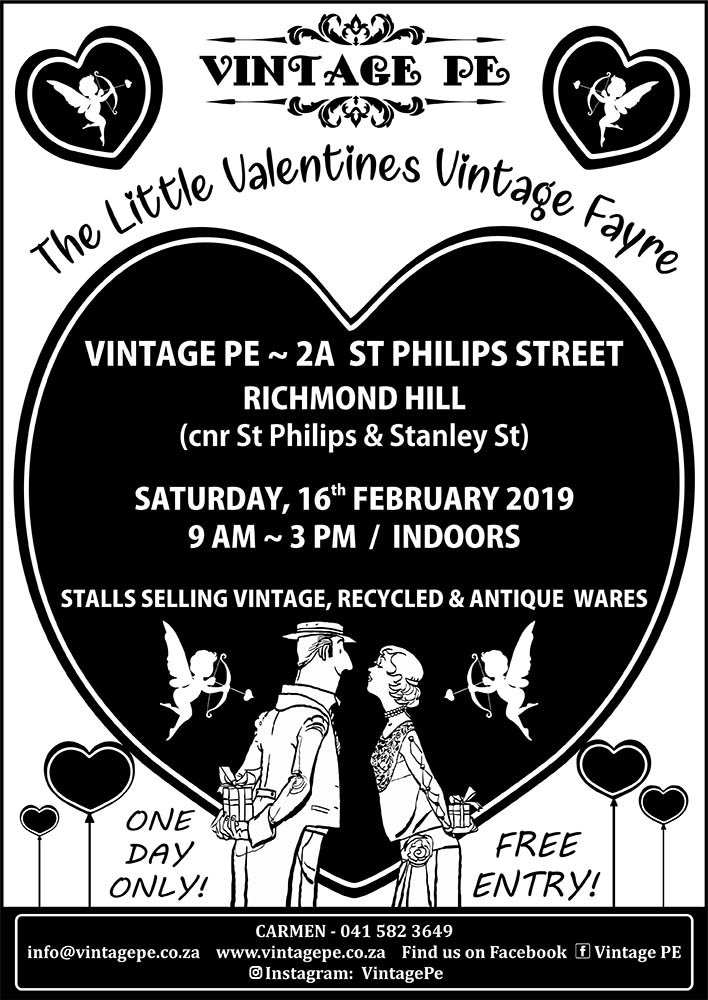 Vintage PE - Little Valentines Vintage Fayre flyer - February 2019 (e-mail)